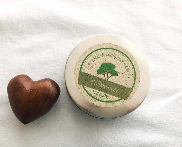 Fusscreme Sheabutter vegan Naturkosmetik Naturtante