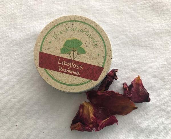 Lipgloss Rosenholz Naturkosmetik Naturtante