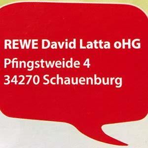 Vertriebspartner Rewe Latta Schauenburg
