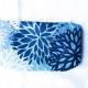 Kosmetiktasche Blau Naturkosmetik Naturtante