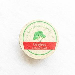 Lipgloss Intensiv Red Naturkosmetik Naturtante