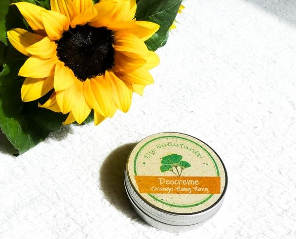 Deocreme Natron Orange Ylang-Ylang Naturkosmetik Naturtante